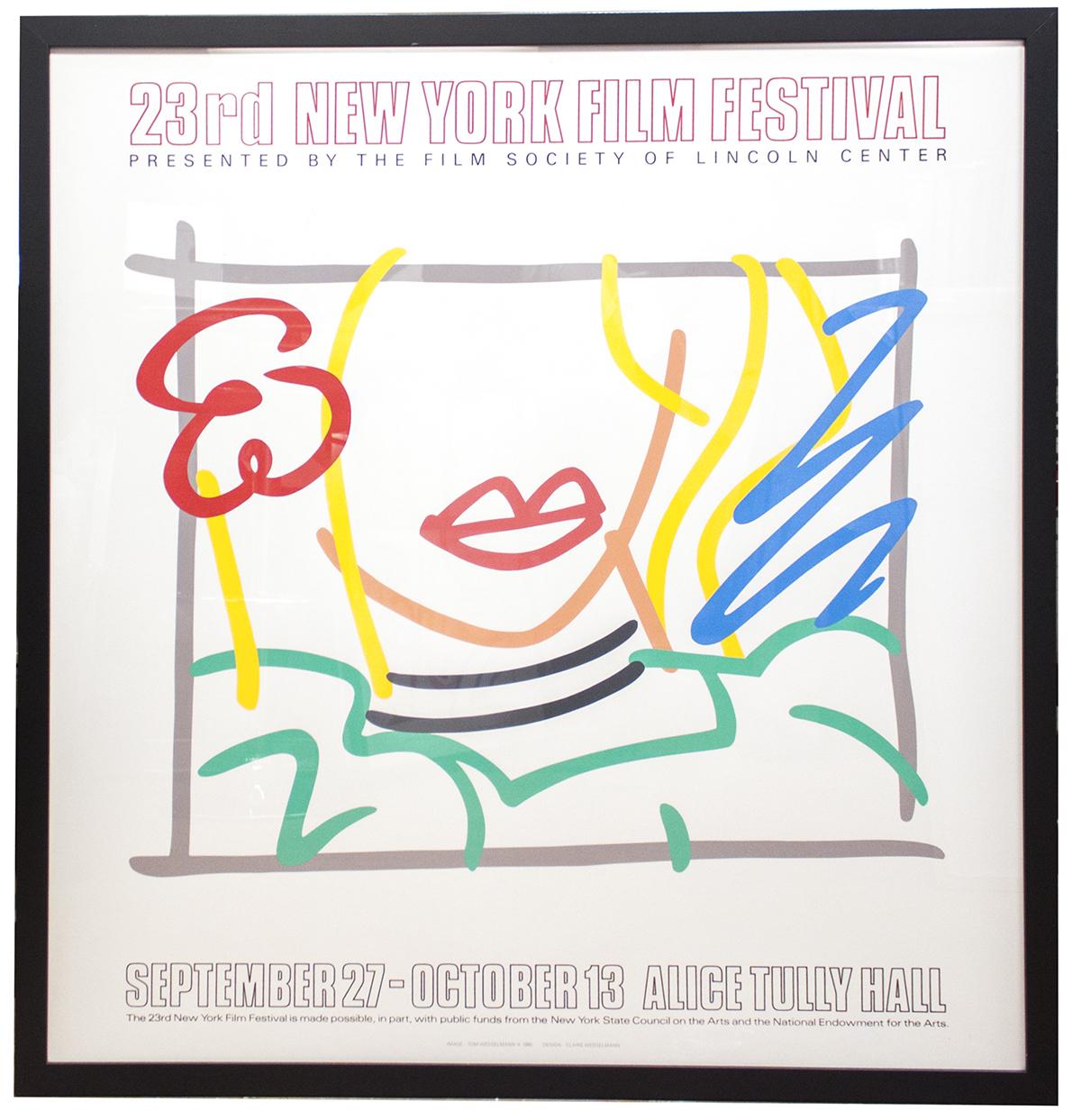 Preschool Teacher Quotes Tom Wesselmann  Monica 23Rd New York Film Festival  1985