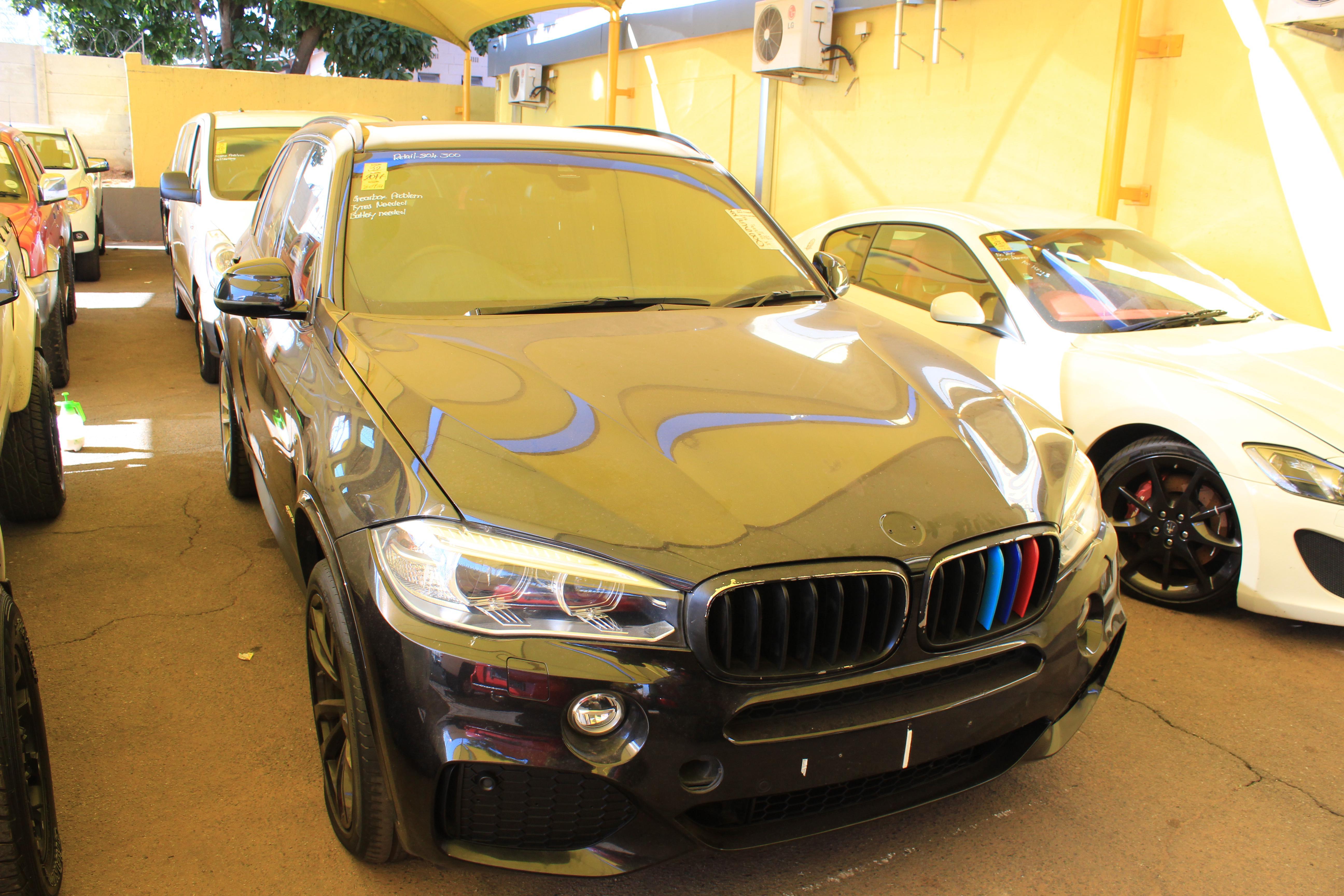 2017 NU7099 BMW X5 xDRIVE (F15) 3 0d M-SPORT A/T (VIN
