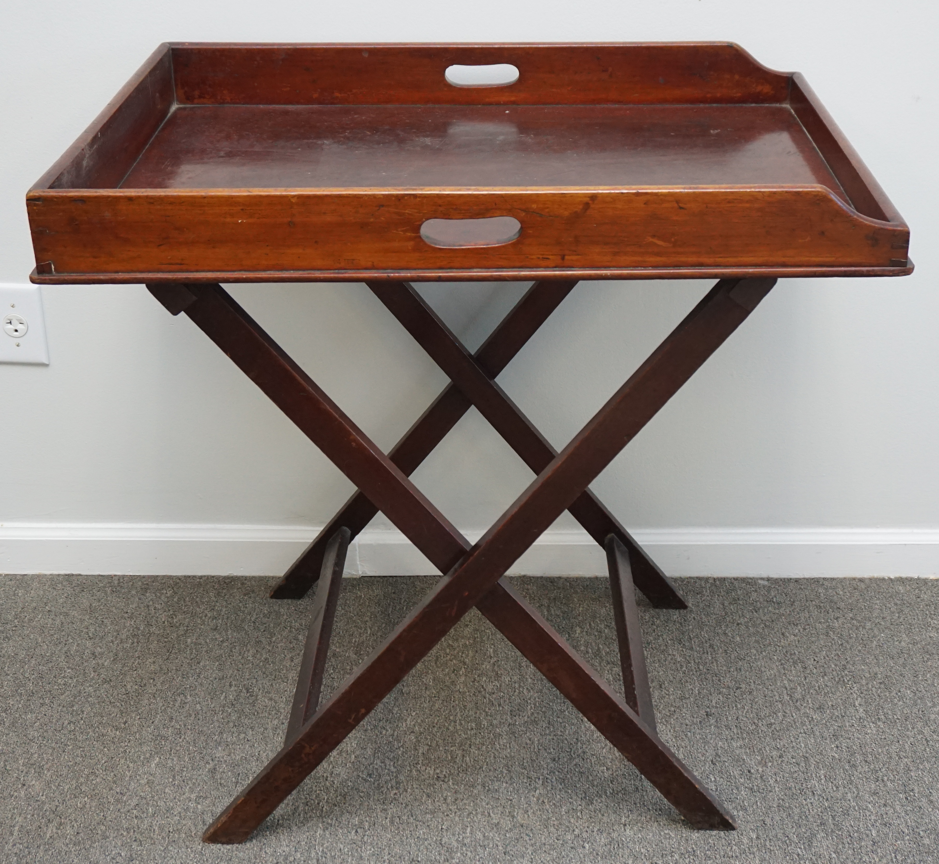 - ANTIQUE FOLDING BUTLERS TRAY TABLE – Lofty Marketplace