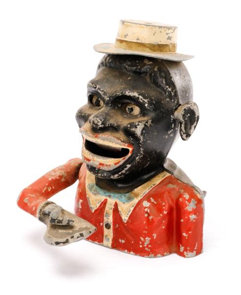 Africa Piggy Man Africans Hat Cylinder Jolly Bank New Nostalgia Decoration