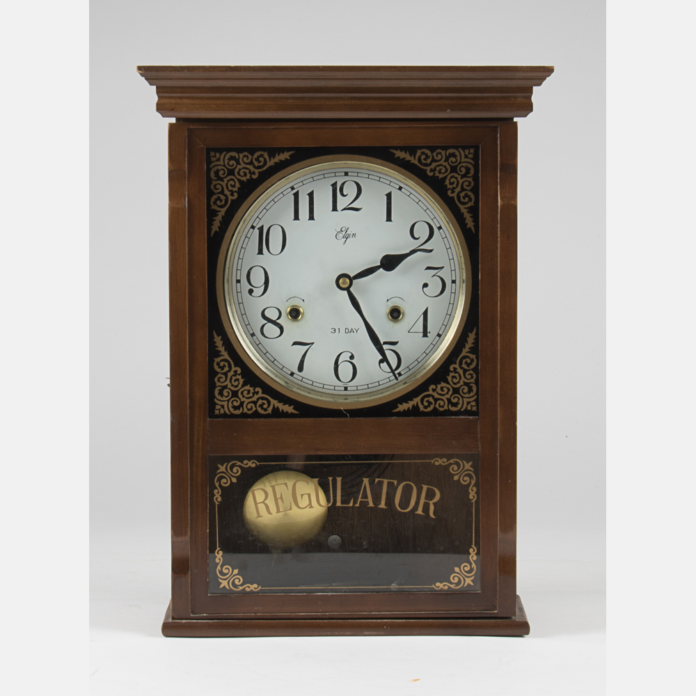 A reproduction elgin regulator clock lofty marketplace amipublicfo Image collections