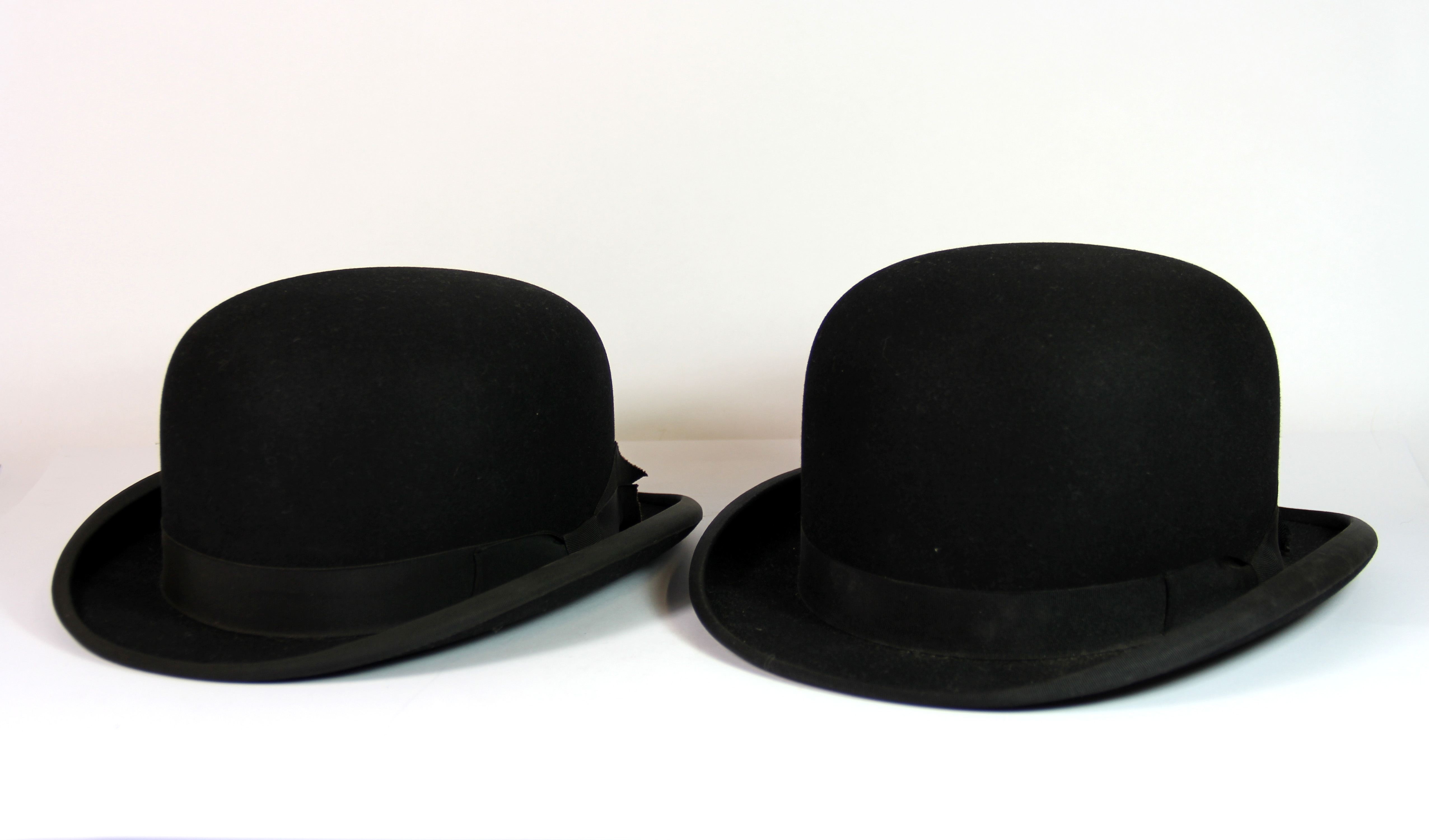 c3cf51055f0 Two vintage bowler hats