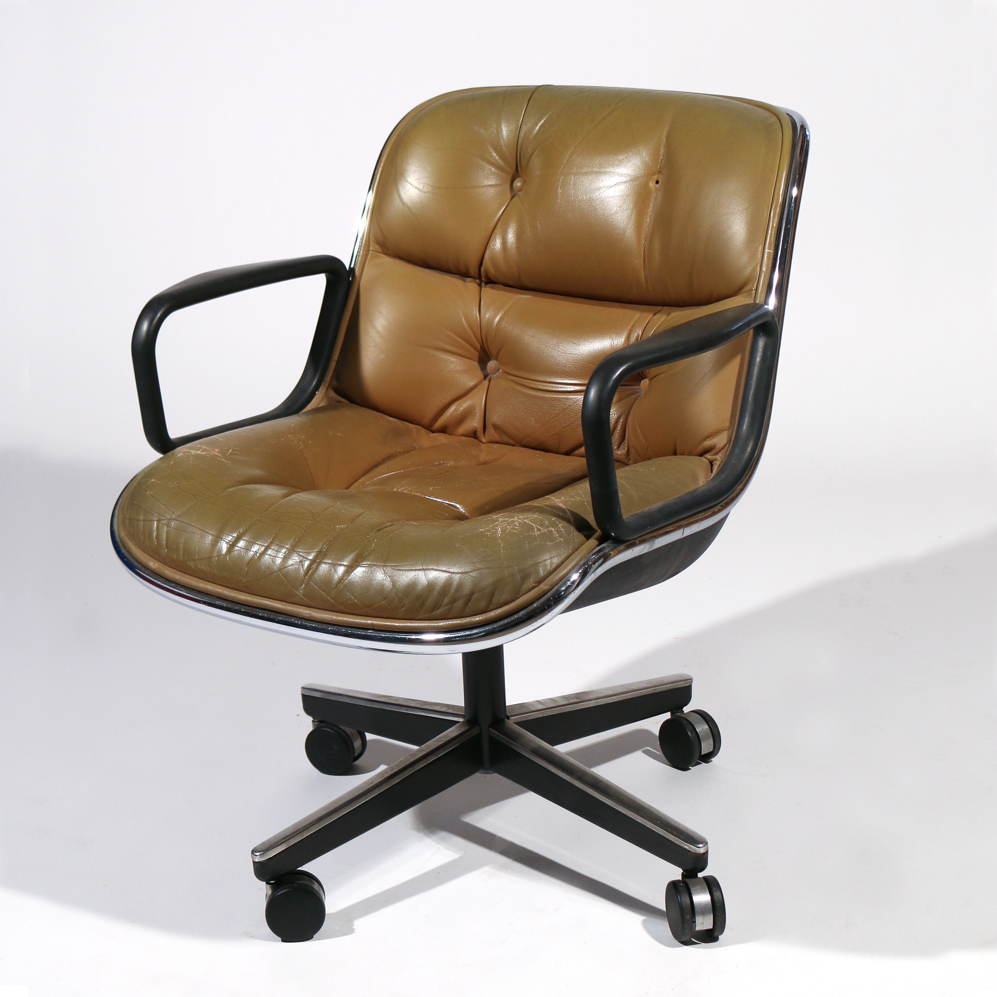 KNOLL LEATHER OFFICE CHAIR – Lofty Marketplace