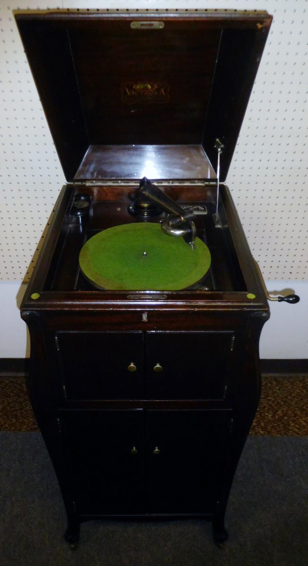 1919 Victor Victrola Vv Xi Hand Crank Record Player Phonograph