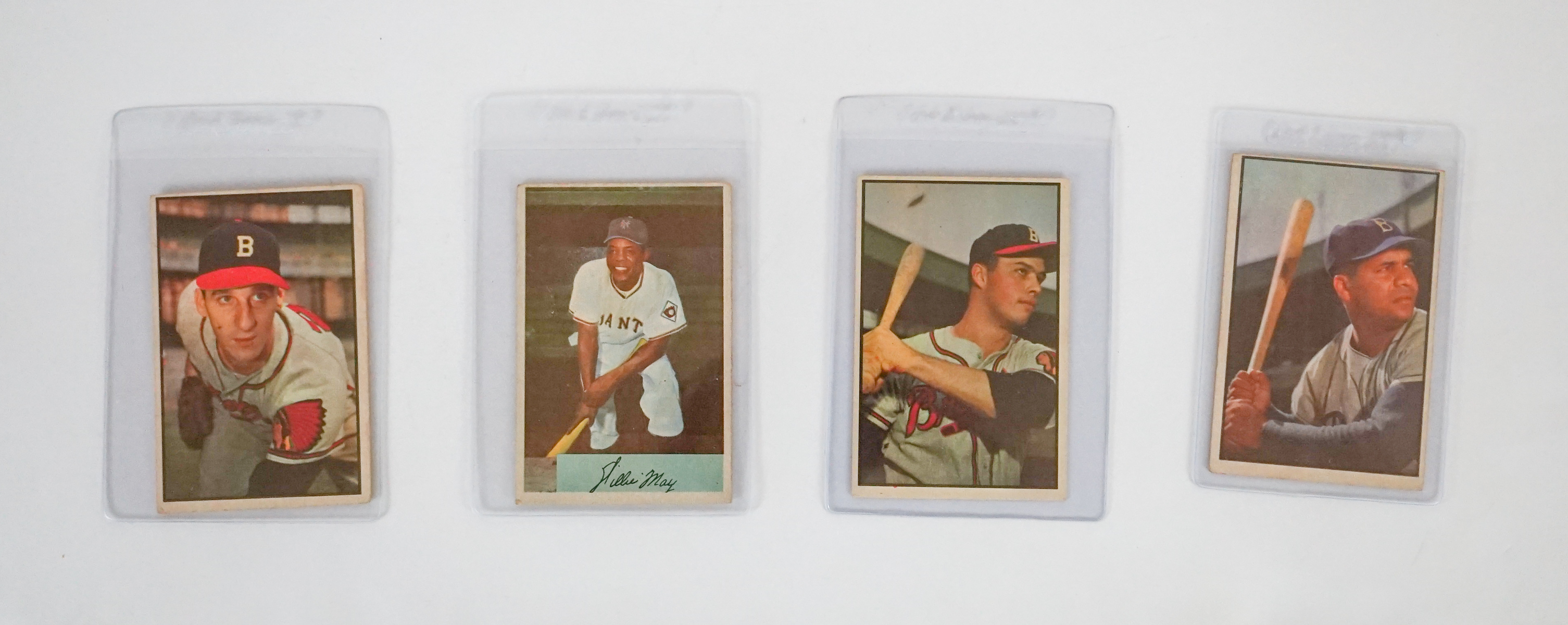 102 1950s Bowman Baseball Cards