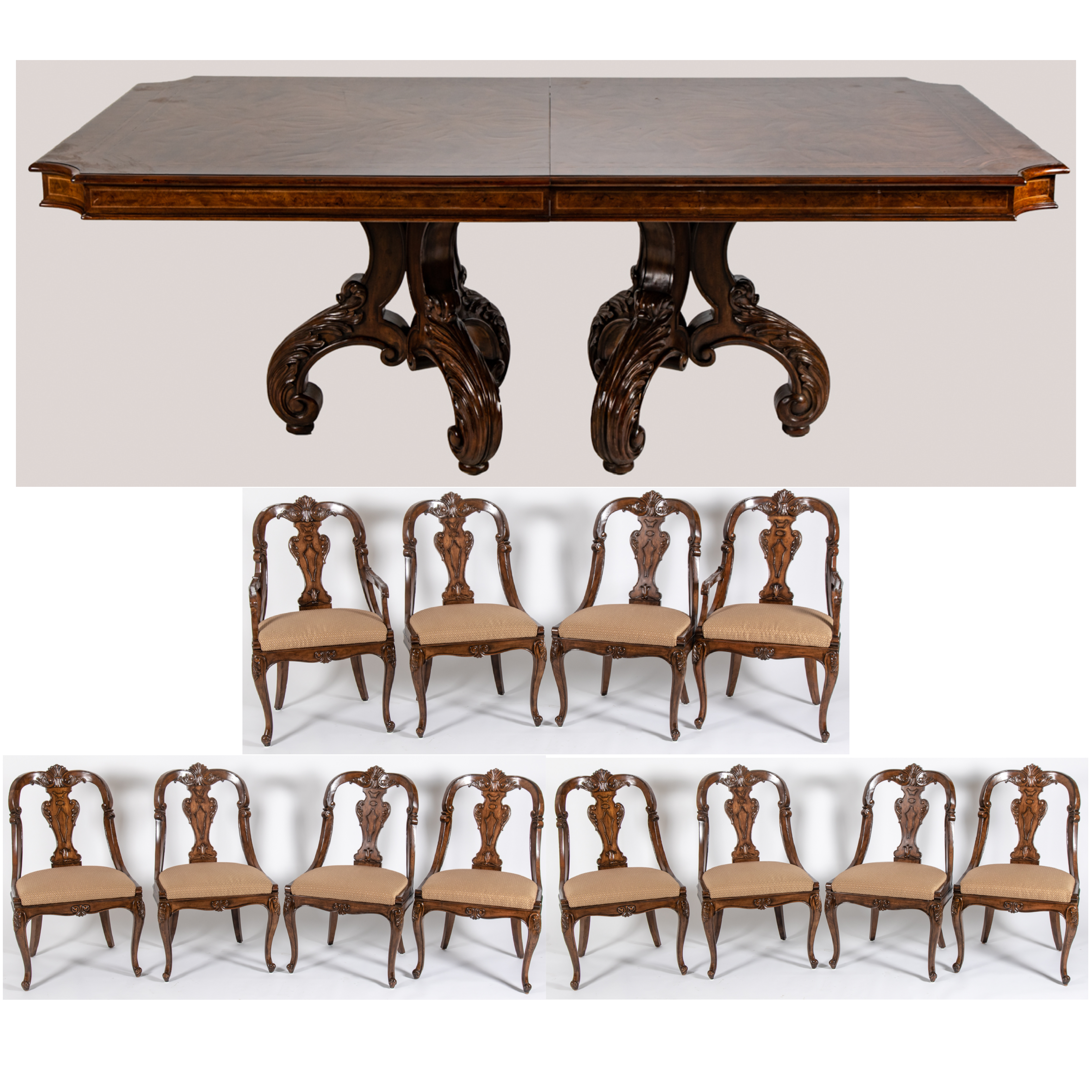 Awe Inspiring Henredon Dining Table And Chairs Andrewgaddart Wooden Chair Designs For Living Room Andrewgaddartcom
