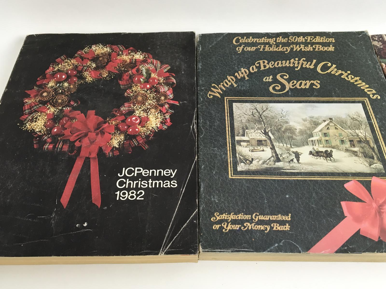 JC Penny and Sears Christmas Catalogs (3), ca  1980's | 345