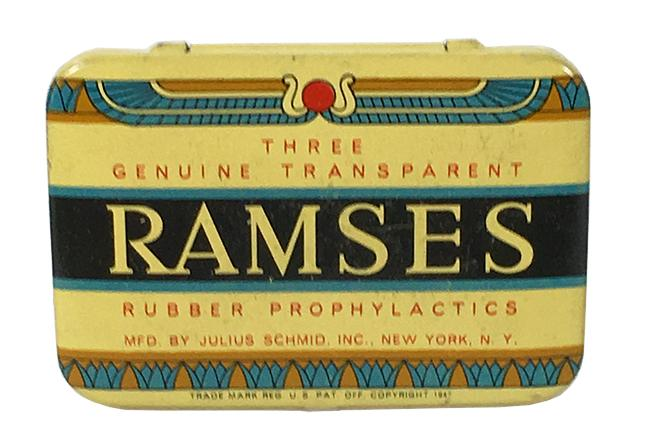 Why are condoms named after ramses