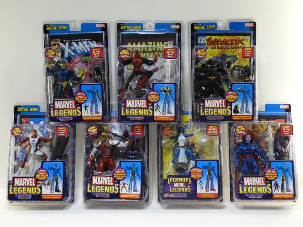 Action- & Spielfiguren Marvel Legends Sentinel Serie Mystique Figur Toybiz 2005