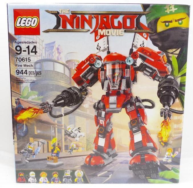 NEW LEGO Ninjago Movie 944 Pcs  Lego Box Age: 9-14 | Bid Venues