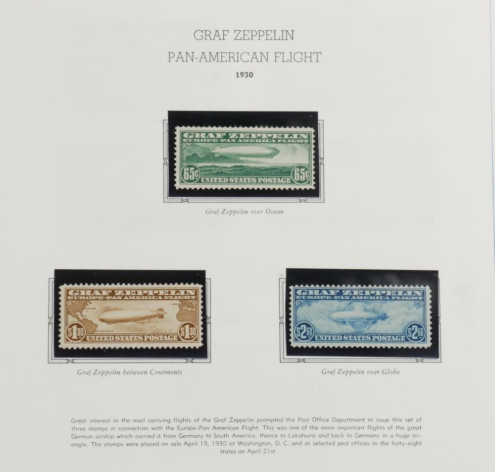 US AIRMAIL STAMP ALBUM | Thomaston Place Auction Galleries