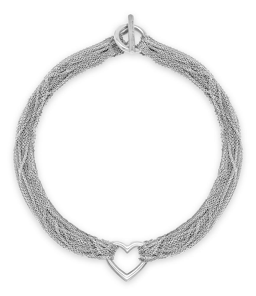 58137a39a A Sterling Silver Multi-Strand Chain Necklace, Tiffany & Co. – Lofty  Marketplace