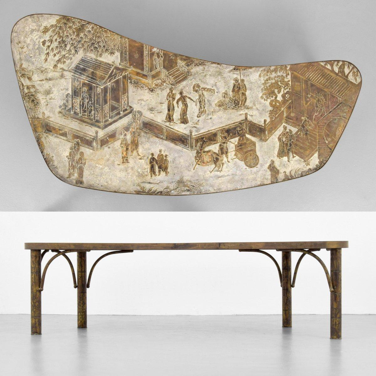 Philip Laverne Coffee Table.Phillip Kelvin Laverne Coffee Table Palm Beach Modern Auctions