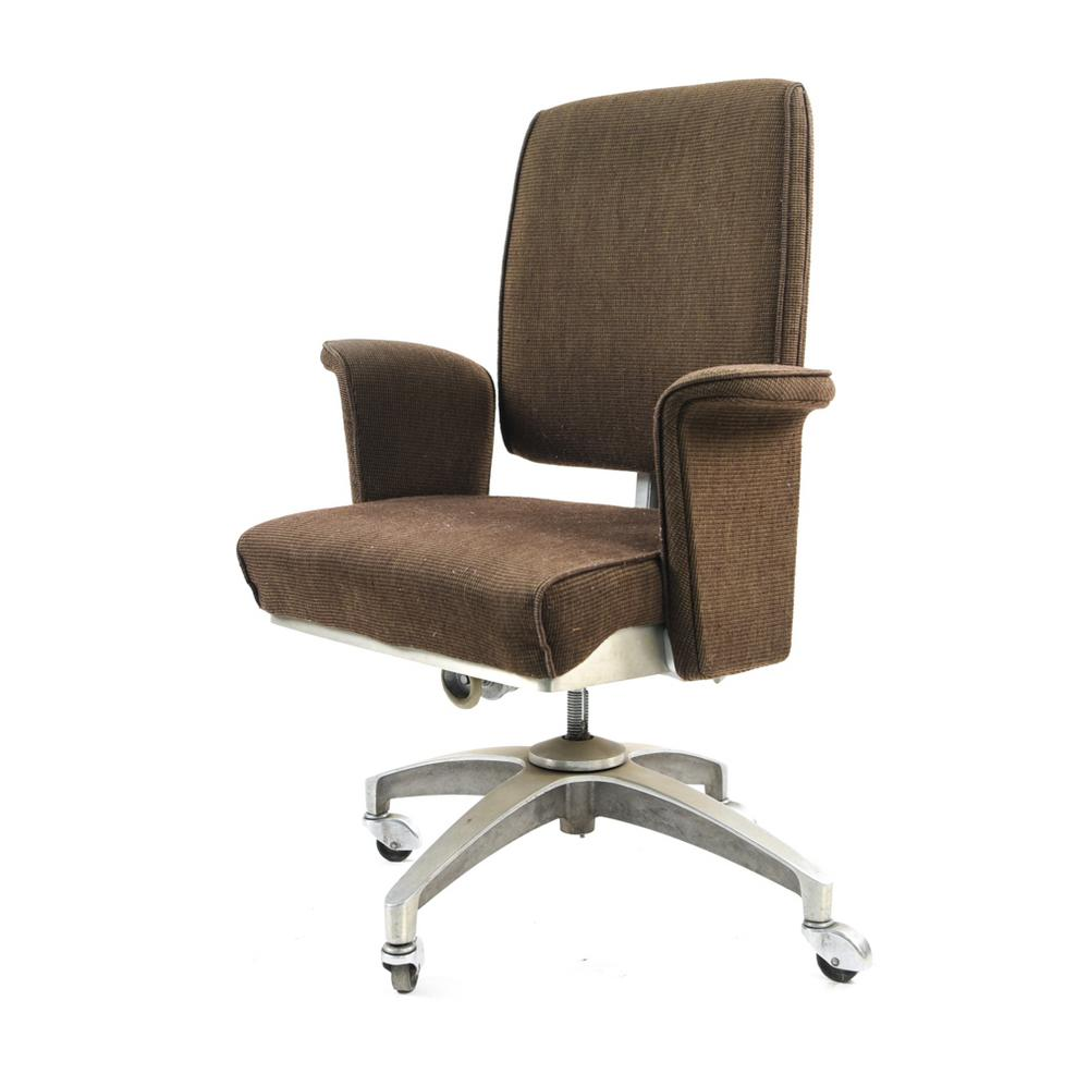 Vintage Shaw Walker Industrial Desk Chair