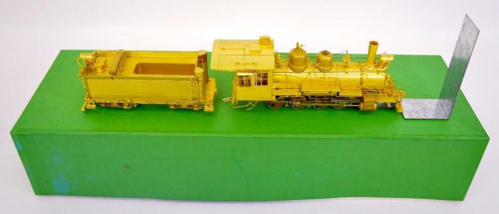Overland Models On3 scale brass D&RGW C-18 #315 2-8-0 steam locomotive in OB