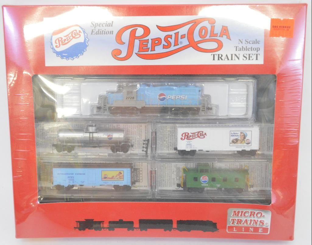Micro Trains Collectibles N Scale Pepsi Cola Special Edition