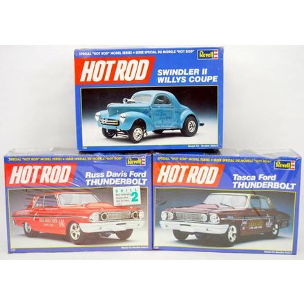 revell hot rod model kits