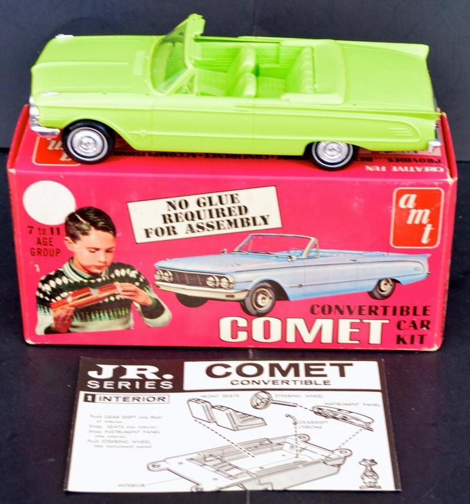 Built up AMT 1963 Comet Convertible 1/25 scale model kit 4310