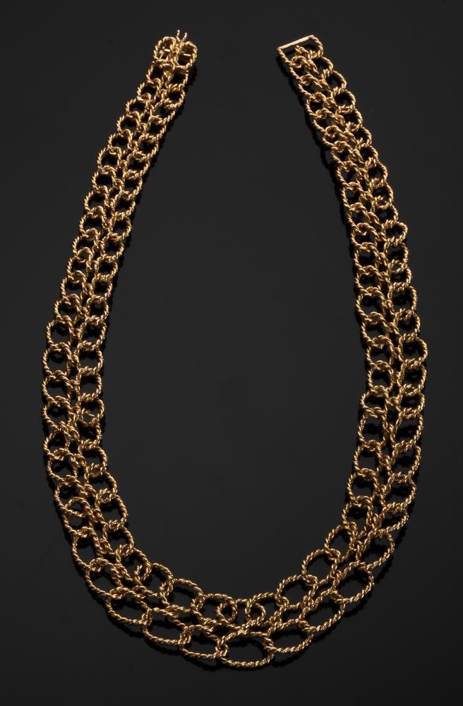2952fae75 Tiffany Schlumberger 18K Gold Braided Necklace – Lofty Marketplace
