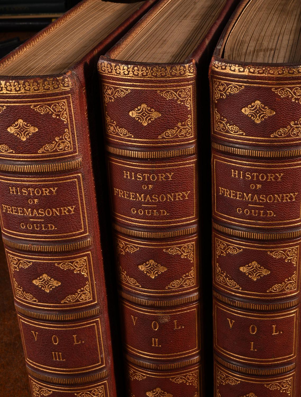 BOOKS: (3) Vols History of Freemasonry 1880 Gould   Millea