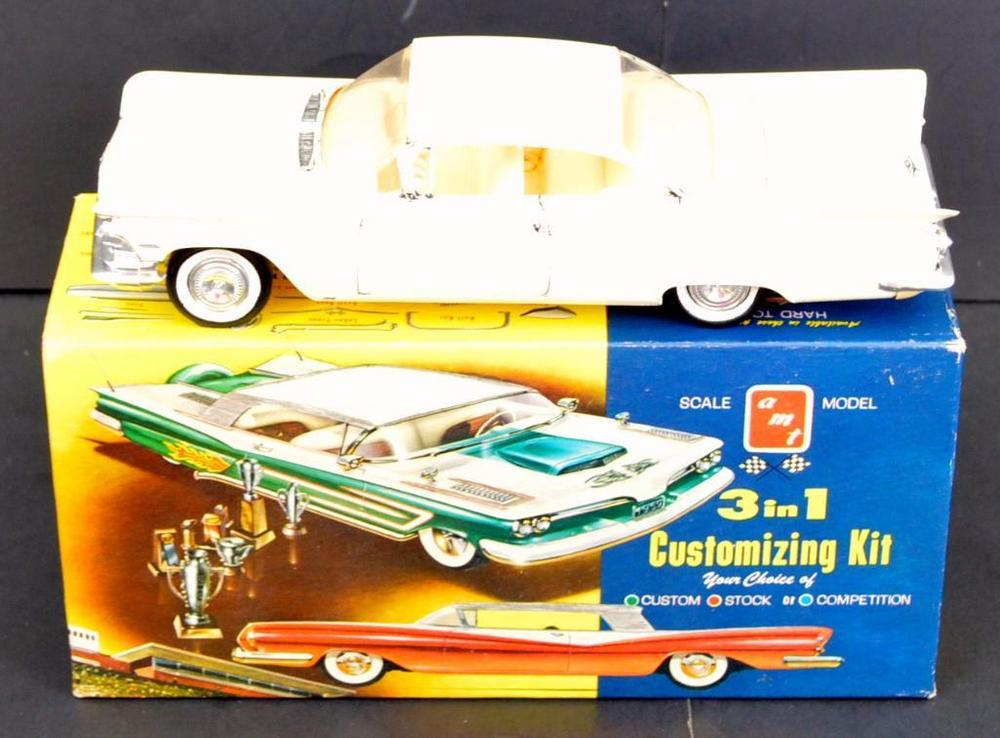 Built up AMT 1959 Buick Hardtop 1/25 scale model kit