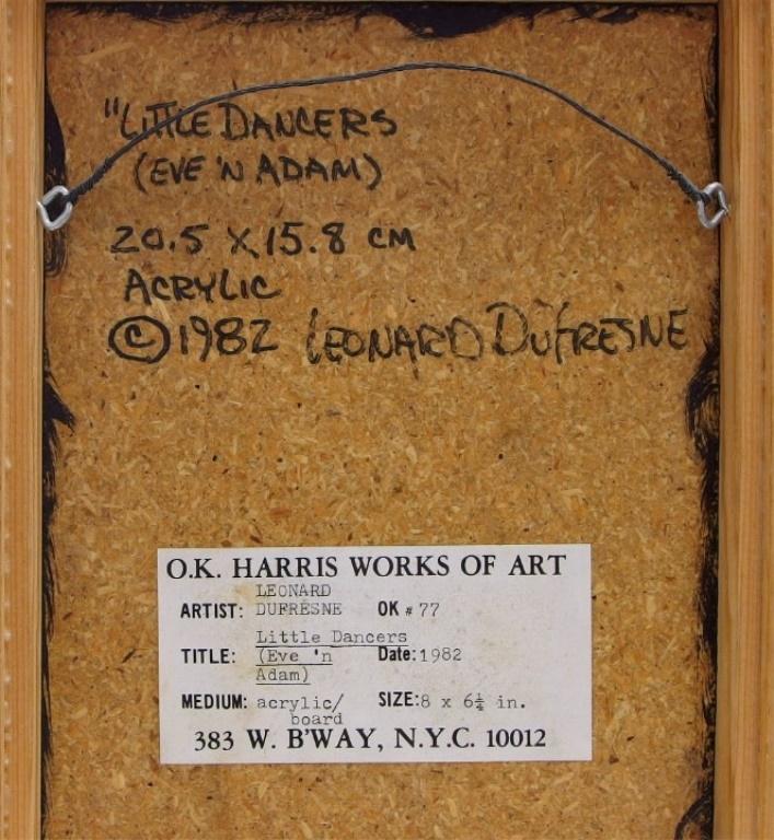Leonard Dufresne Little Dancers Genre Painting