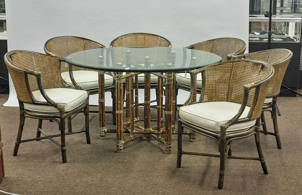 Superbe McGuire San Francisco Bamboo U0026 Rattan Furniture Set