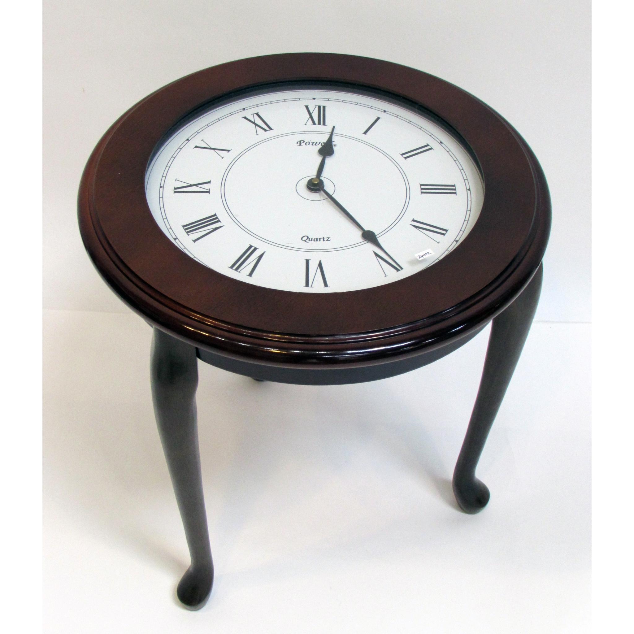 Clock End Table Lofty Marketplace