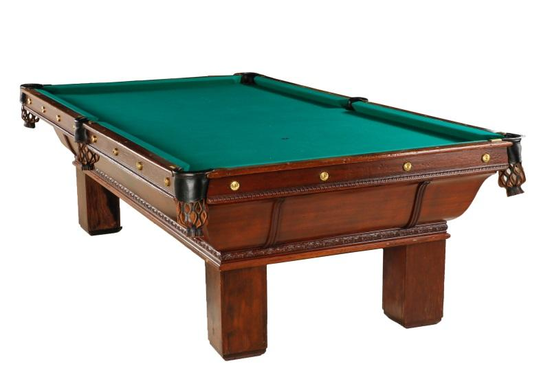 Brunswick Balke Collender Pool Table Foot Lofty Marketplace - Brunswick 9 foot pool table