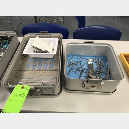 2 Aesculap Sterile Container System | Key Auctioneers