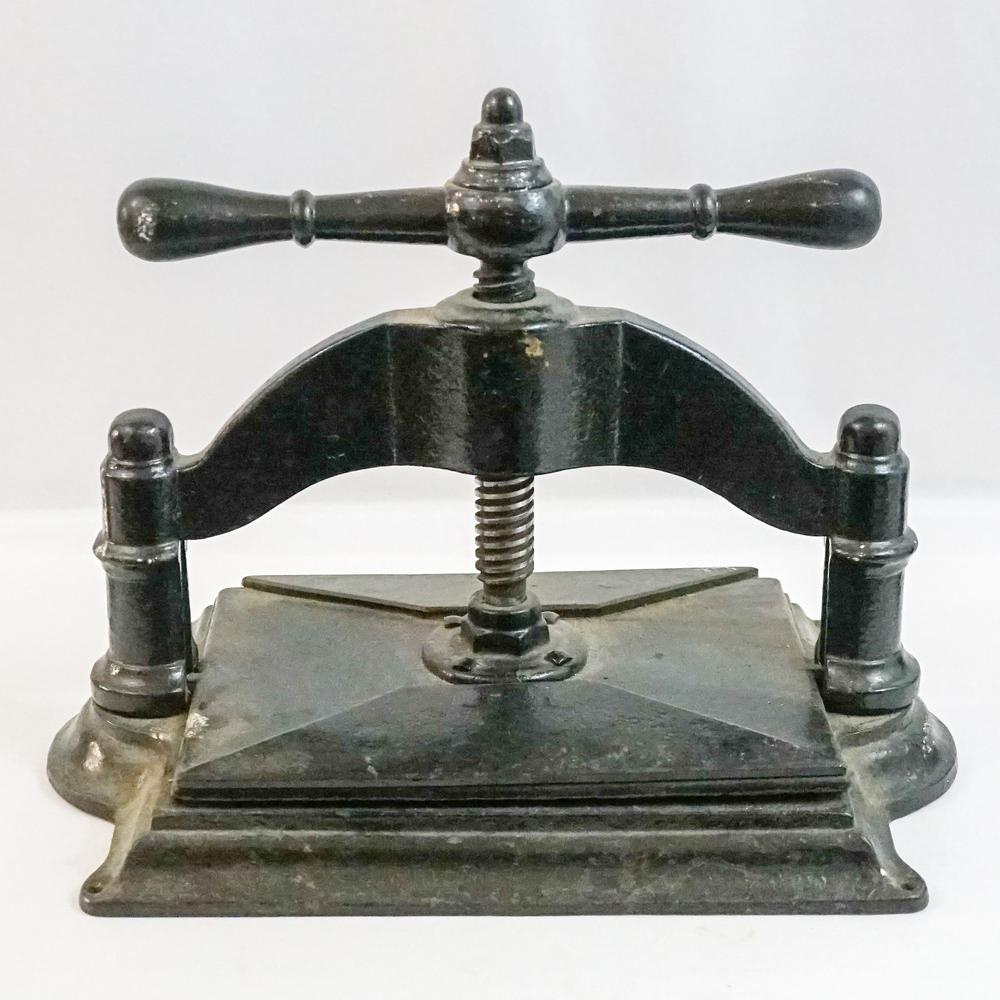 Antique Iron Book Press