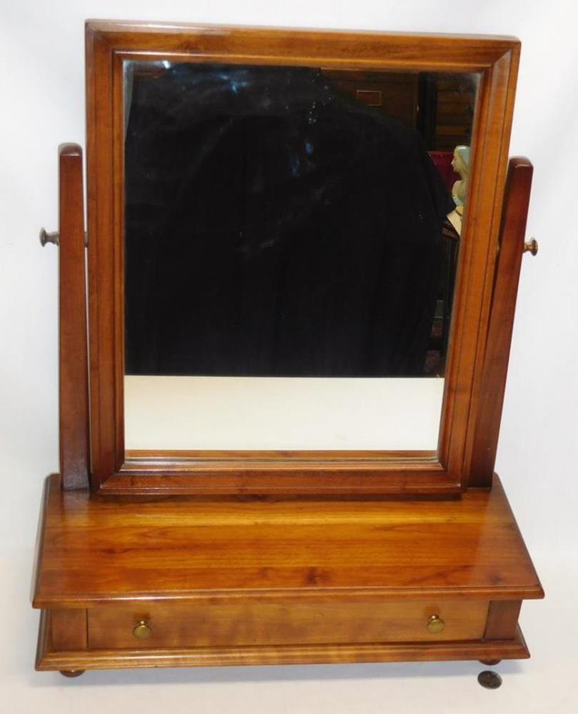 Vintage 1950 S Stickley Cherry Valley Dresser Top Mirror Shaving Drawer W Tag