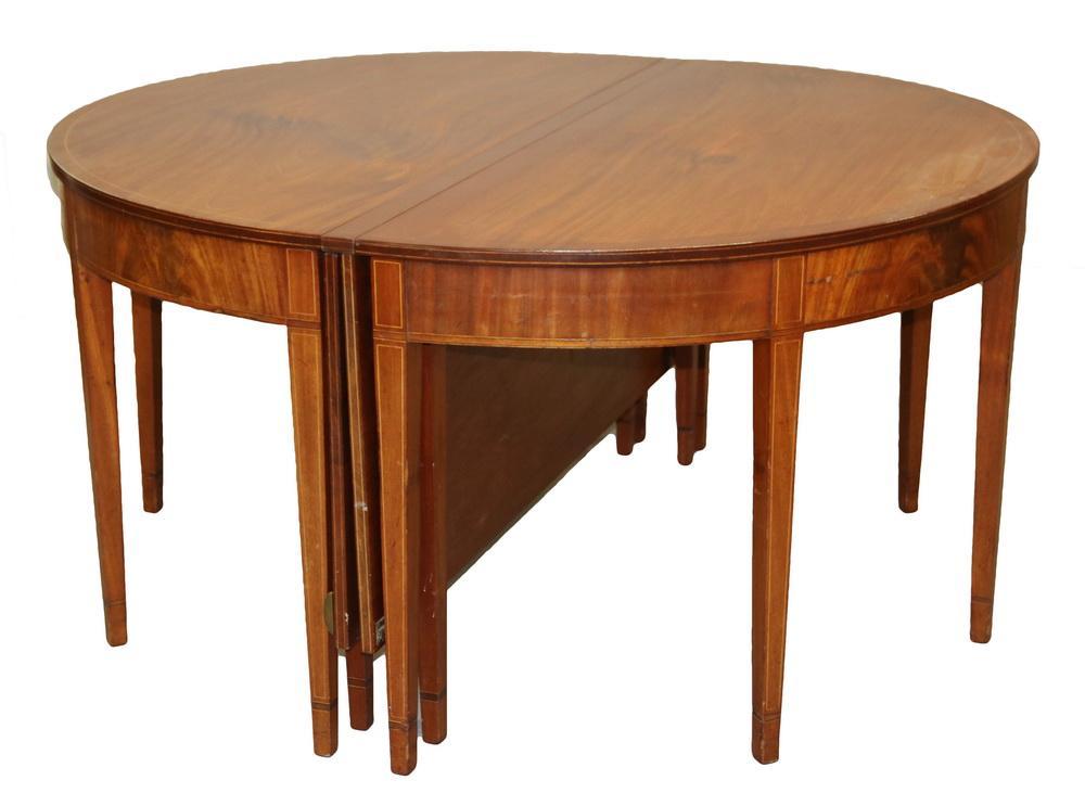 Hepplewhite 2 Part Banquet Table