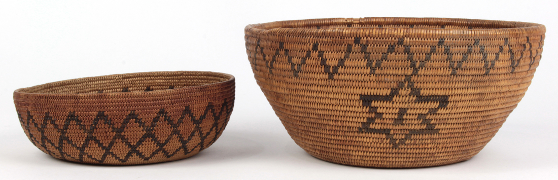 Native American Mono or Menache (central CA) basketry group