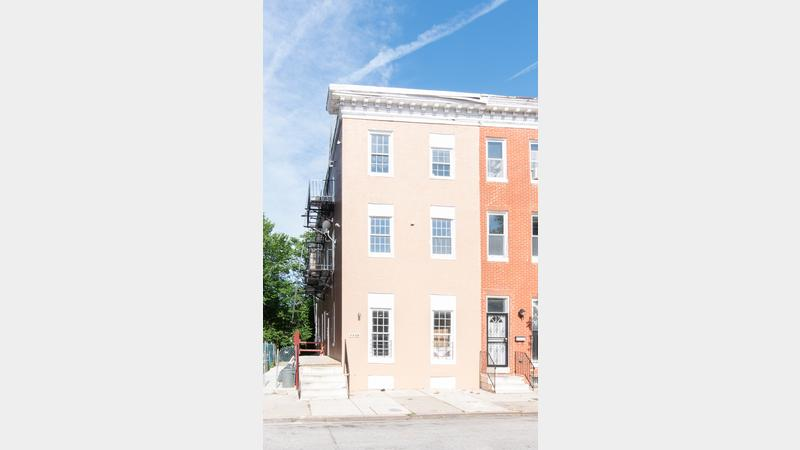 Fully Updated Partially Leased 6 Unit Apartment Building In The Johnston Square Neighborhood Of Baltimore City Close Proximity To Johns Hopkins