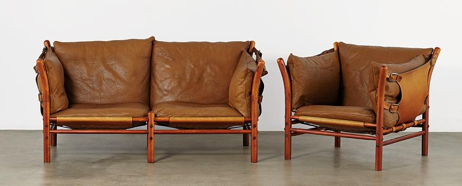 Arne Norell Ilona Sofa And Chair 2, Arne Norell Ilona Chair