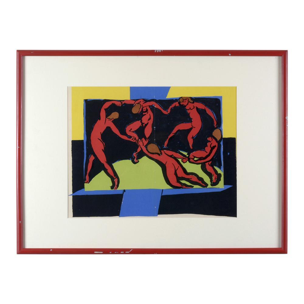 Henri Matisse. La danse. Litografía sin número de tiraje. Enmarcada ...