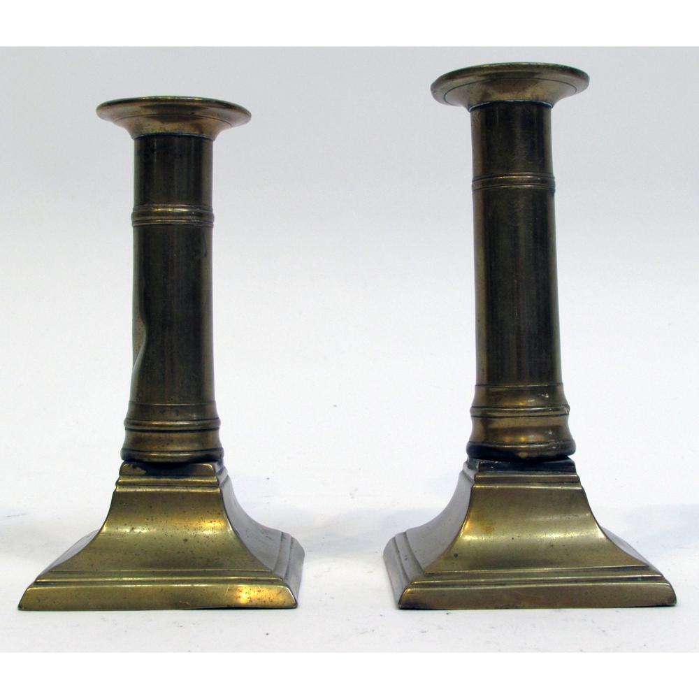 Brass Candlesticks antique brass candlesticks – lofty marketplace