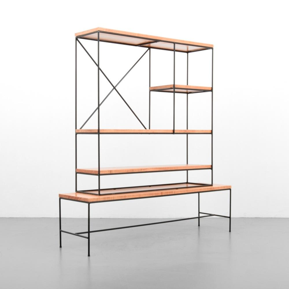 Paul Mccobb Shelving Unit Room Divider