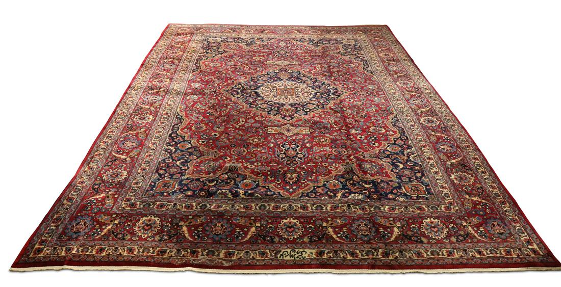 Persian Mashad carpet