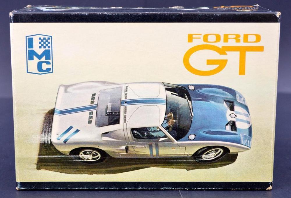 Rare Mint Unbuilt Imc Ford Gt   Scale Model Kit   Slot Car Conversion