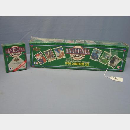 1990 Upper Deck Baseball Cards Factory Sets Sealed Rons Auction