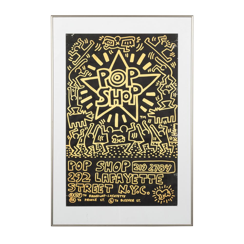 52f191410 Keith Haring Pop Shop Poster – Lofty Marketplace