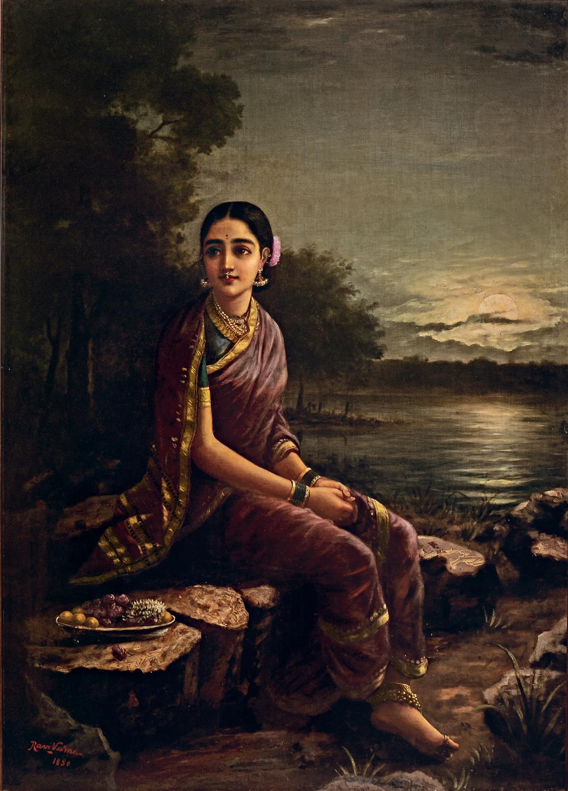 Radha in the Moonlight | Pundole's