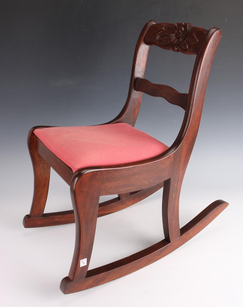 Enjoyable Childs Rocking Chair 1940S Beatyapartments Chair Design Images Beatyapartmentscom