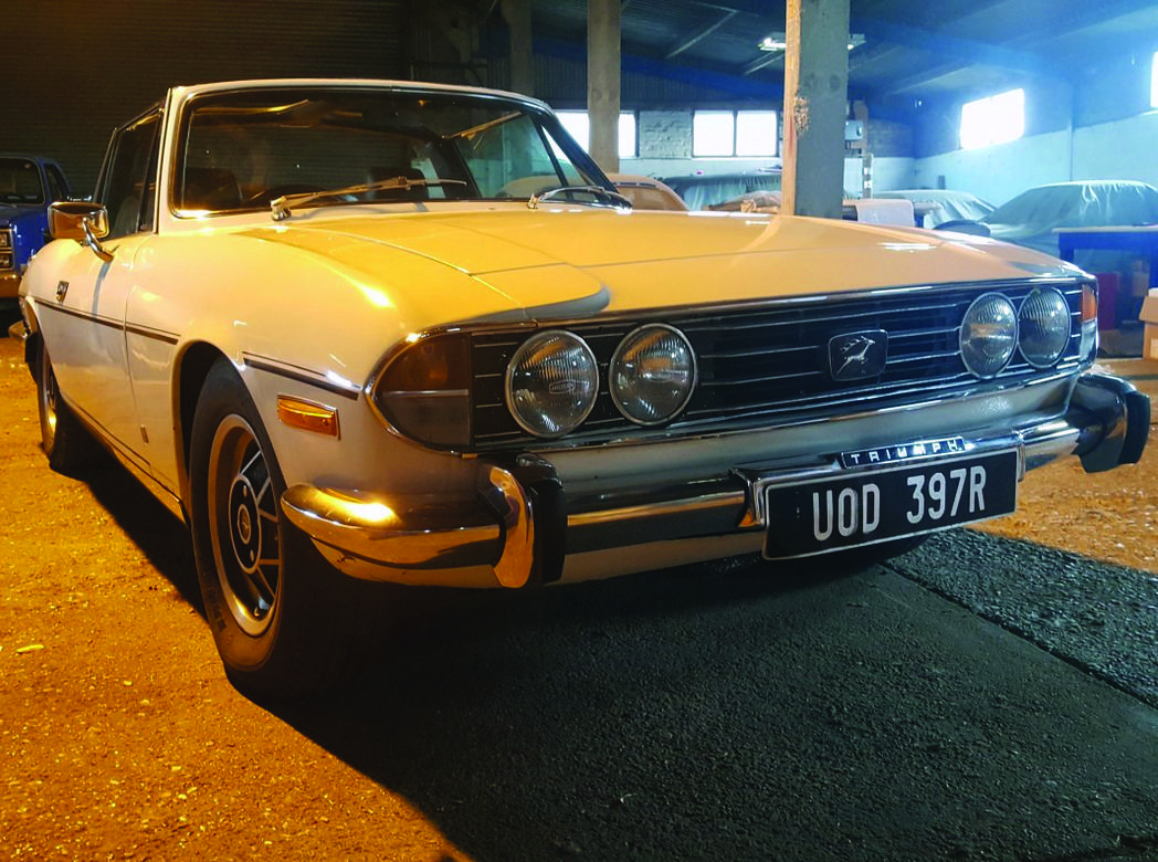Triumph Stag 1977   Essex Classic Car Auctions