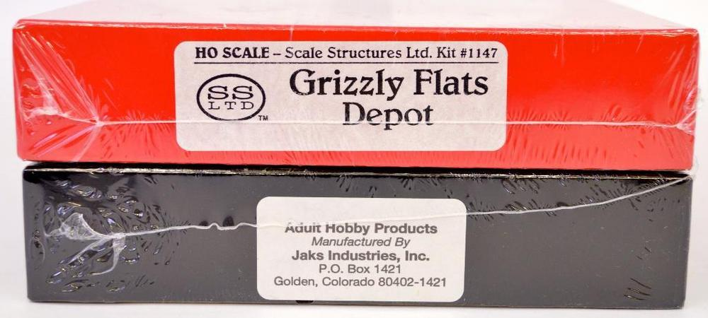 Micro Mark Grizzly Flats Depot HO and O scale craftsman kits