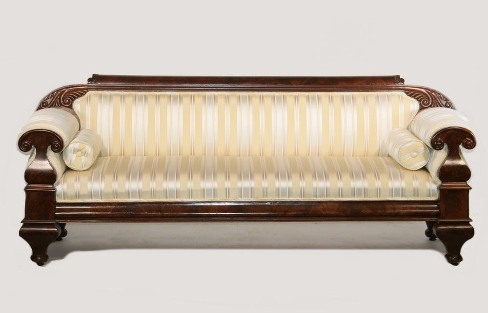 American Empire Sofa Circa 1815 Lofty