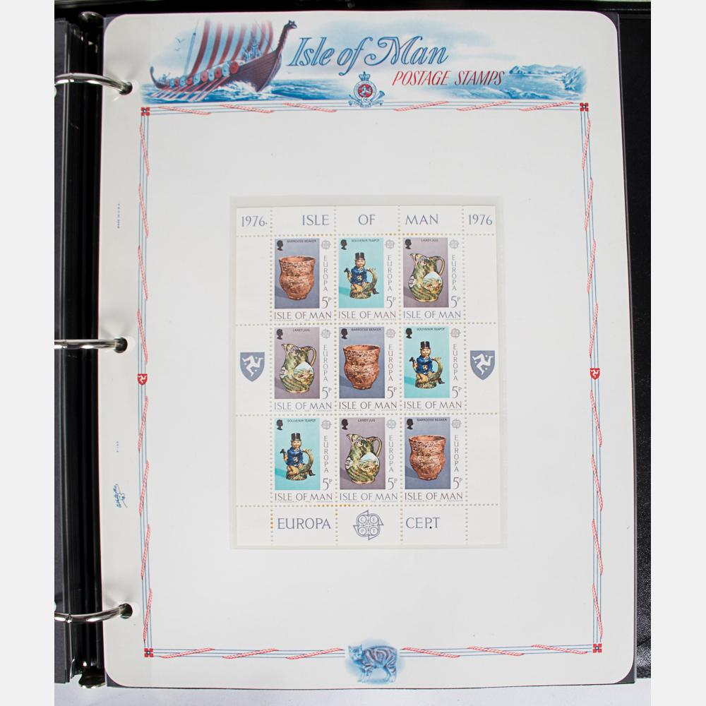 White Ace Stamp Albums from the Isle of Man