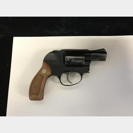 SMITH & WESSON AIRWEIGHT  38 SPECIAL CTG  REVOLVER